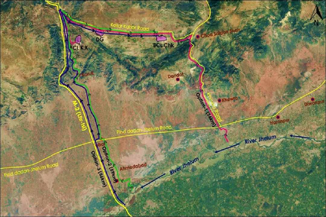 Feasibility study for Designing of 65 km water pipeline