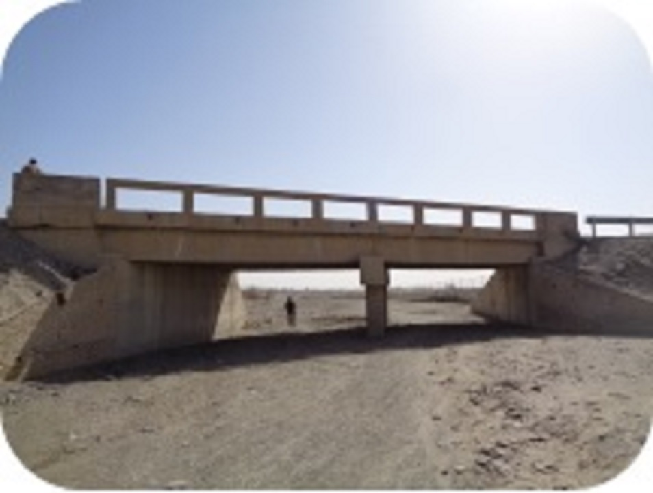 Bridge at Km 67+570 for Quetta Kalat Chaman Road Project, Section 2 and 4, (N-25 Baluchistan)
