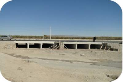 Bridge at Km 70+815 for Quetta Kalat Chaman Road Project, Section 2 and 4, (N-25 Baluchistan)