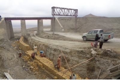 Bridge at Km 74+225 for Quetta Kalat Chaman Road Project, Section 2 and 4, (N-25 Baluchistan)