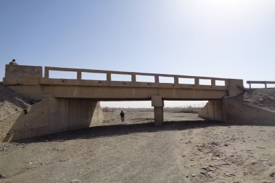 Bridge at Km 75+150 for Quetta Kalat Chaman Road Project, Section 2 and 4, (N-25 Baluchistan)